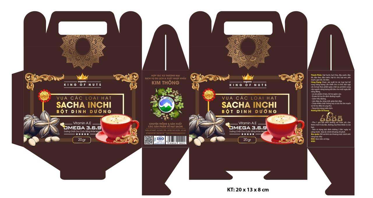 Các sản phẩm từ hạt SACHI của TT PTHT NN Việt tham gia các hội chợ